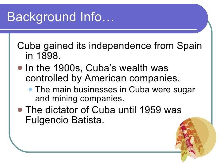 Cuban Revolution Slide 2