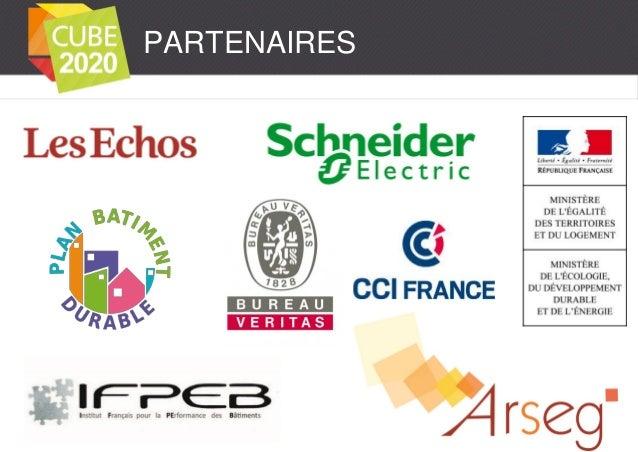 CUBE2020 est lancé ! Présentation au SIMI - IFPEB - Premier Challenge Interentreprises sur les Economies d'Energies ! Slide 2