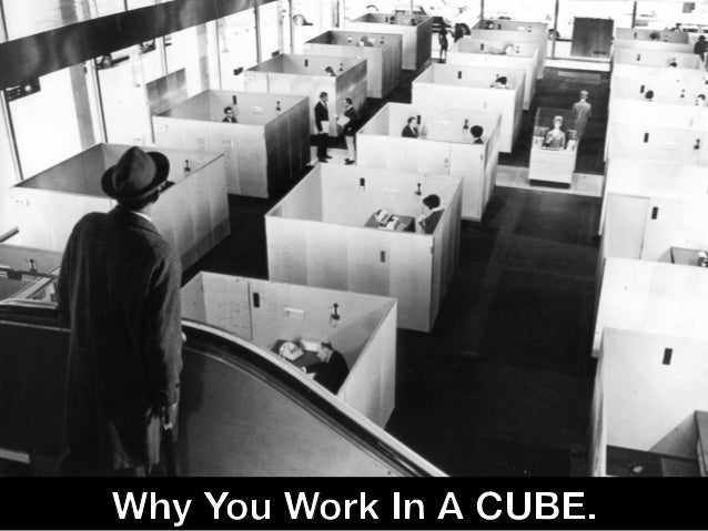 The Cube Meant to give workers autonomy and freedom, the cubicle turned into one of the greatest symbols of white collar d...