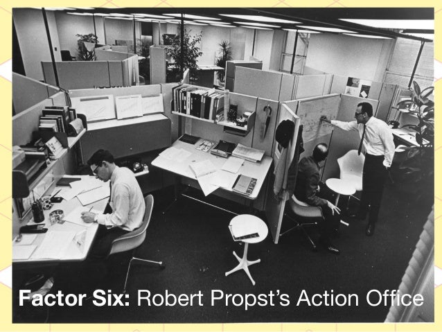 So where does your cubicle come from? The Action Office. Developed for the Herman Miller company, the Action Office was crea...