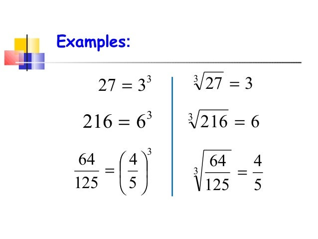 Cube Roots from CCSS