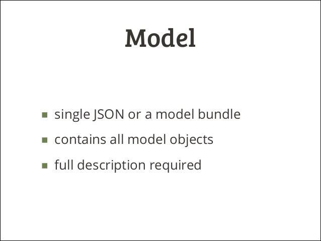 Cubes – pluggable model explained Slide 3