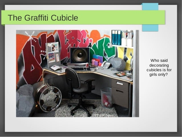pimp my cubicle - office decor ideas