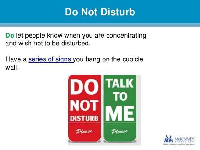 Cubicle Etiquette 101