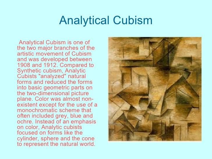 Cubism Vs Natural