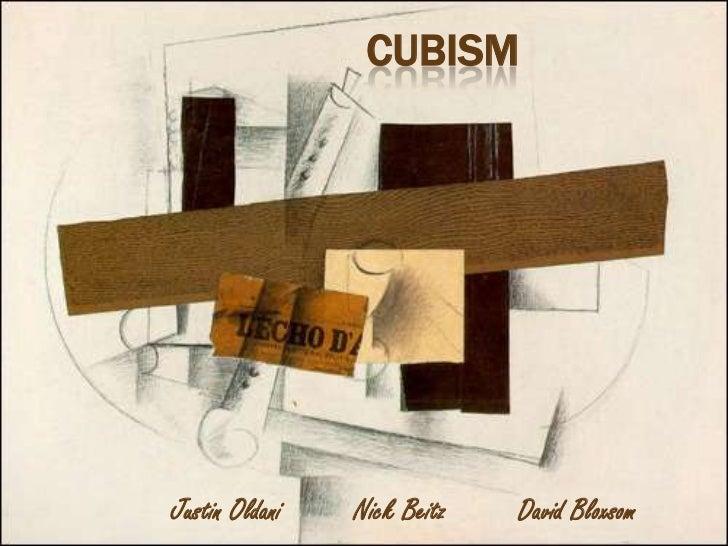 CUBISMJustin Oldani   Nick Beitz   David Bloxsom