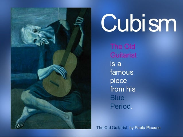 picasso blue period guitar