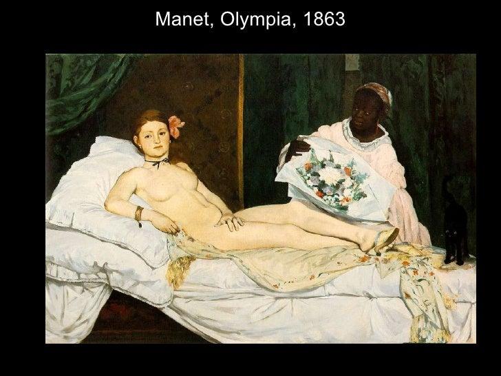 Manet, Olympia, 1863