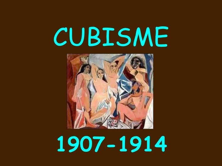CUBISME1907-1914