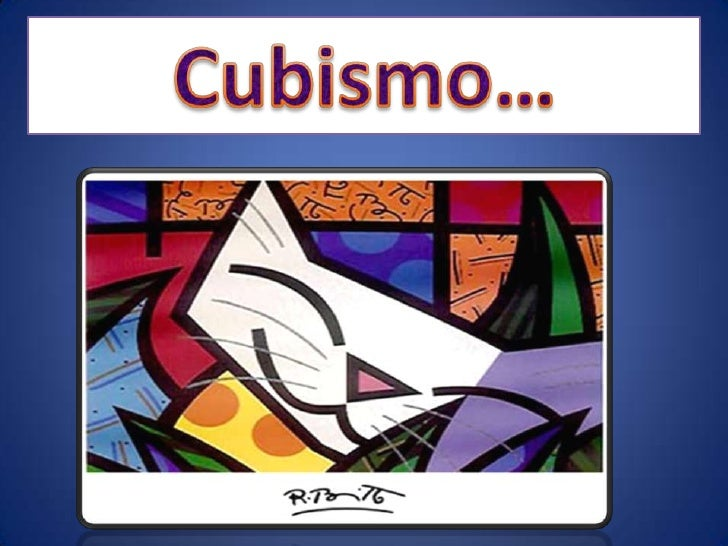 Cubismo for Tipos de vanguardias
