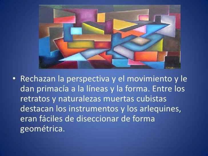 historia • El cubismo surge en la primera década del siglo   XX, constituyendo la primera de las vanguardias artísticas.  ...
