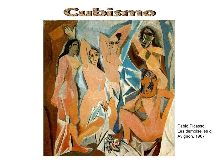 Pablo Picasso.Les demoiselles dAvignon, 1907