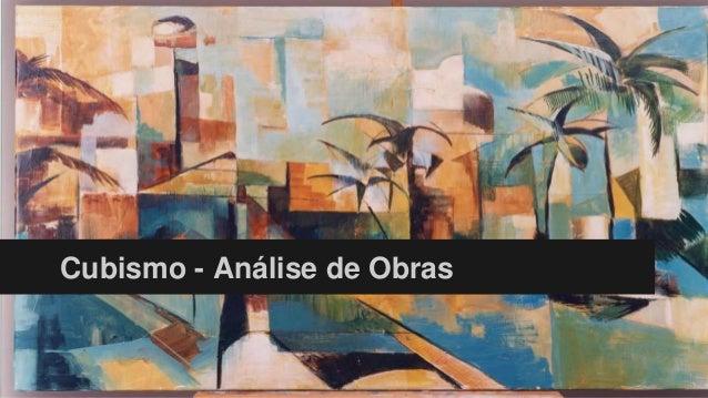 Cubismo - Análise de Obras