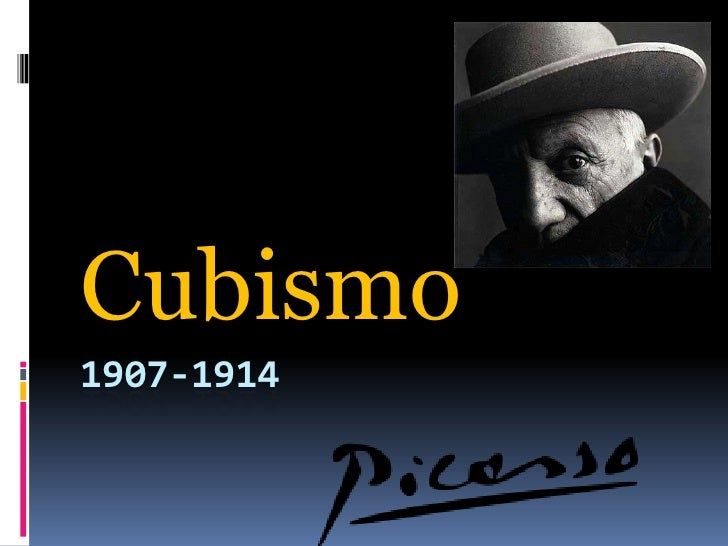 1907-1914<br />Cubismo<br />