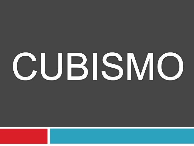 El cubismo es un movimiento de principios del siglo XX que provocó   una ruptura entre la estética clásica y el concepto d...