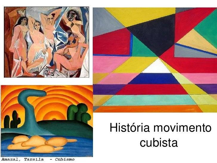 História movimento cubista