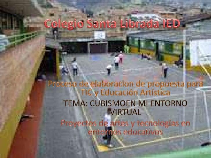 PRESENTACION SOBRE EL TEMA DE CUBISMO APLICANDO LA HERRAMIENTA VIRTUAL   GLOGSTER.CON LAS PAGINAS WEB QUE PUEDEN VISITAR