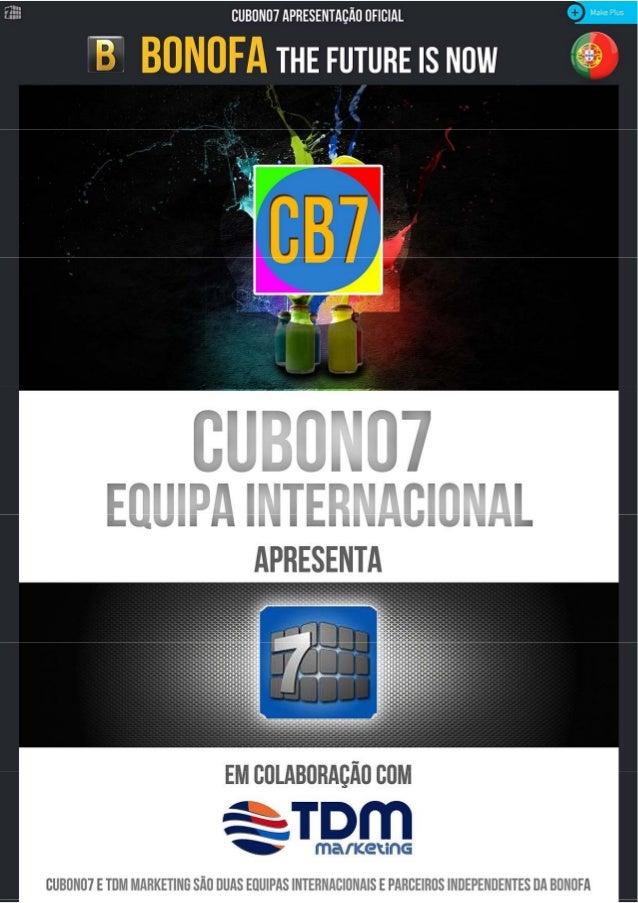 Resumo em PDF sobre a Bonofa & Cube 7 by Cubono7