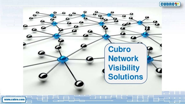 Cubro Network Visibility Solutions