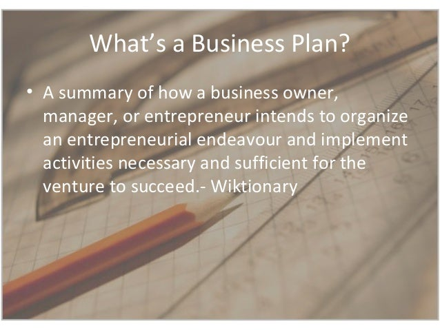 challenges of a business plan