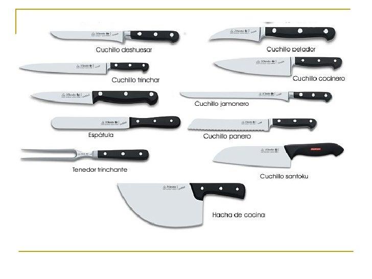 Cuchillos for Clases de cuchillos de mesa