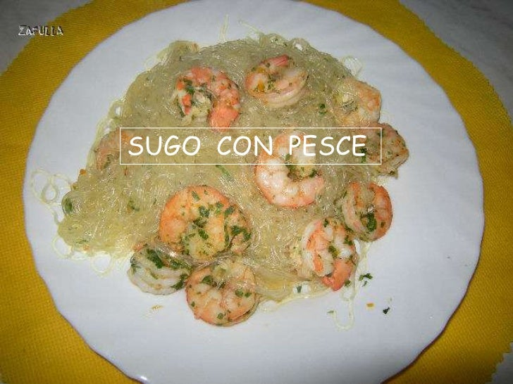 SUGO CON PESCE
