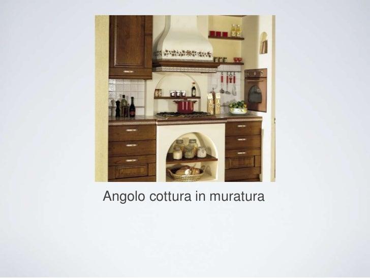 Angolo cottura in muratura cucina in muratura con - Cucina angolo cottura in muratura ...