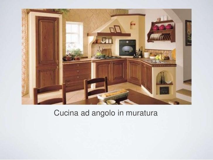 Cucine in muratura - Cucine in muratura ad angolo ...