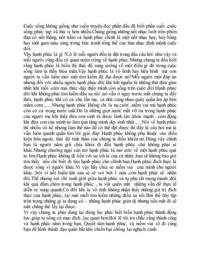 Cuộc sống không giống như cuốn truyện đọc phần đầu đã biết phần cuối ,cuộc sống phức tạp và thú vị hơn nhiều.Chúng giống n...