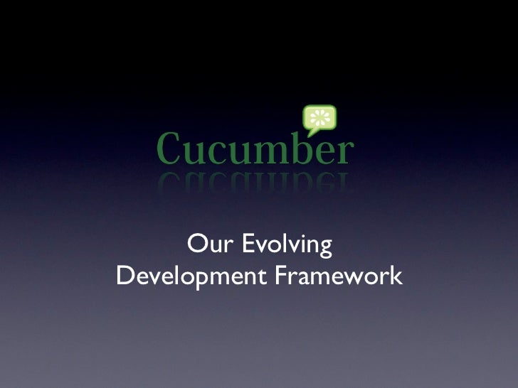 Our EvolvingDevelopment Framework