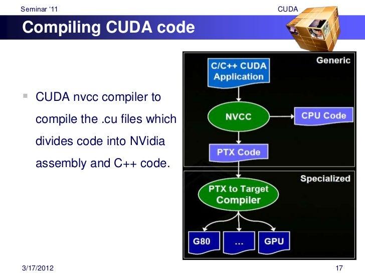 """Seminar """"11                                                 CUDA    Exampleint main(void){         float *a_h, *b_h;      ..."""