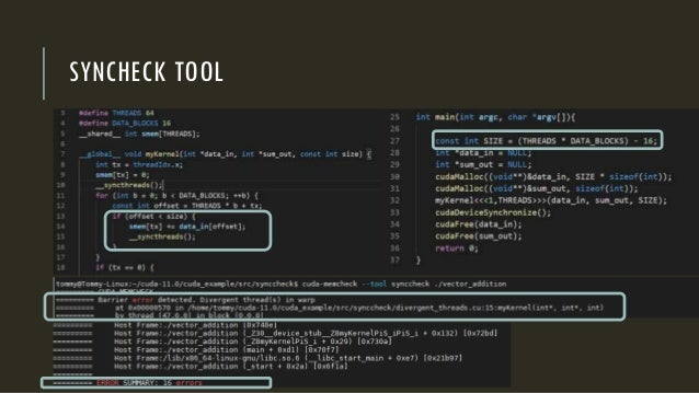 SYNCHECK TOOL