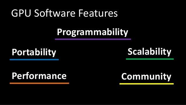 CUDA vs OpenCL Slide 2