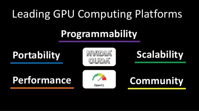 CUDA vs OpenCL Slide 3