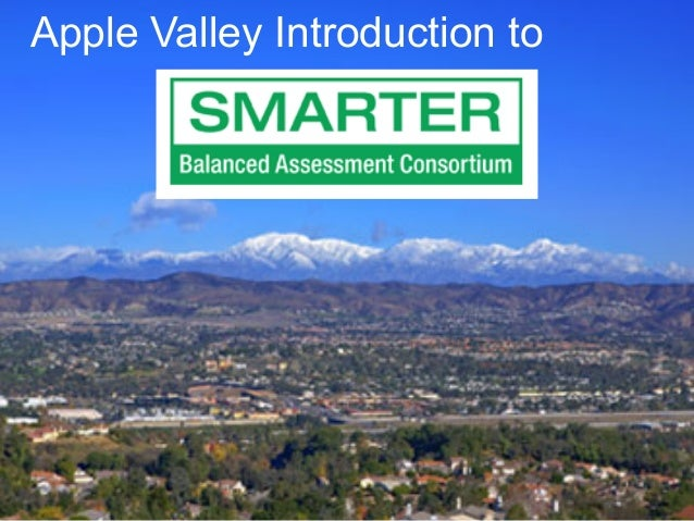 Apple Valley Introduction to