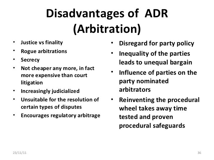a description of the advantages and disadvantages off the american judicial system Alternatives to the courts - advantages and disadvantages this has the effect of closing access to the legal system which should be open to all.
