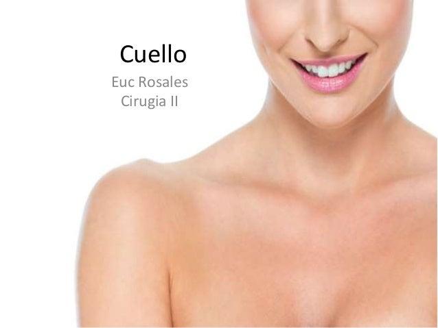 Cuello Euc Rosales Cirugia II