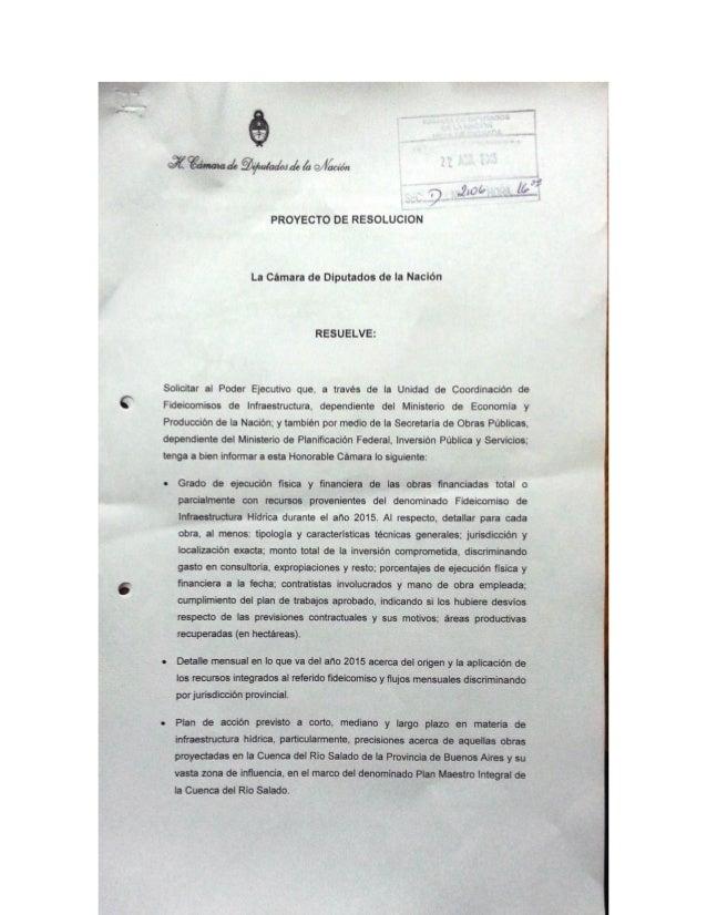 'T31      (gámala¿ Qr/ izi/ ac/ wú ¿x alacrán  q (Zip!  ¿e?   PROYECTO DE RESOLUCION  La Cámara de Diputados de la Nación ...