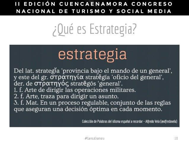¿Qué es Estrategia? 10#CuencaEnamora