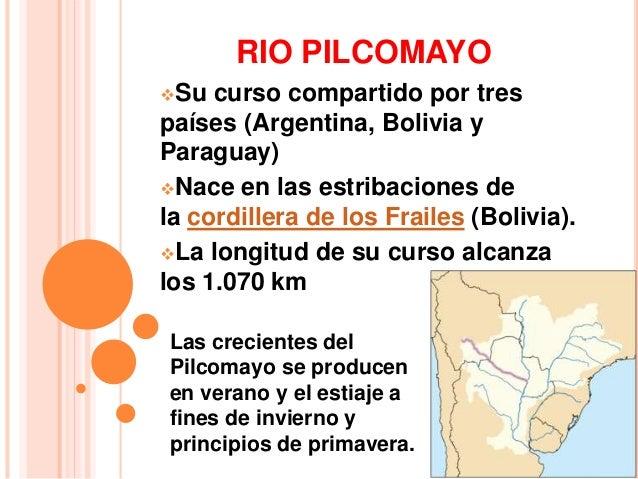 CUENCA DE LA PLATA  El Paraná finalmente  desemboca en el Río de la  Plata.  El Río de La Plata posee  una superficie de 3...