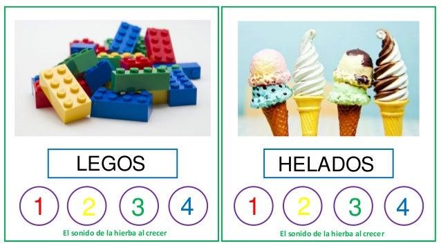 1 1 2 3 4 1 2 3 4 El sonido de la hierba al crecer El sonido de la hierba al crecer LEGOS HELADOS