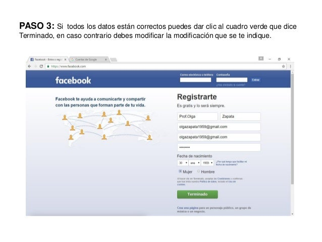 Iniciar sesion facebook español gratis m