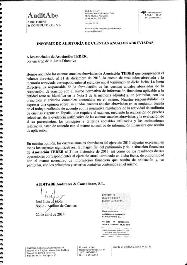 Cuentas anuales-teder-2013