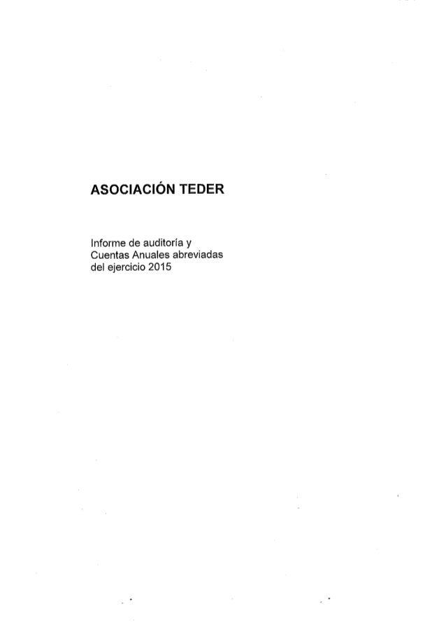 Cuentas anuales-teder-2015