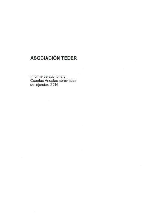 Cuentas anuales-teder-2016