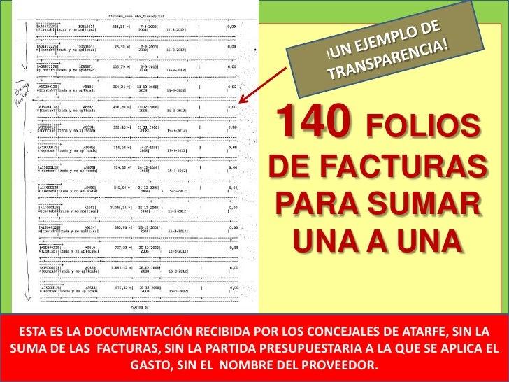 140 FOLIOS                                      DE FACTURAS                                      PARA SUMAR               ...