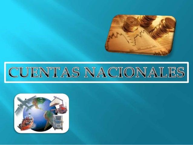 CONTABLIDAD ECONÓMICA NACIONAL