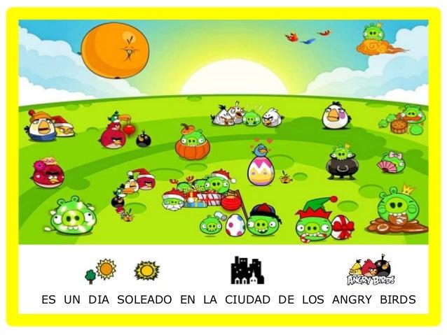 Cuento adaptado Angry Birds Slide 2