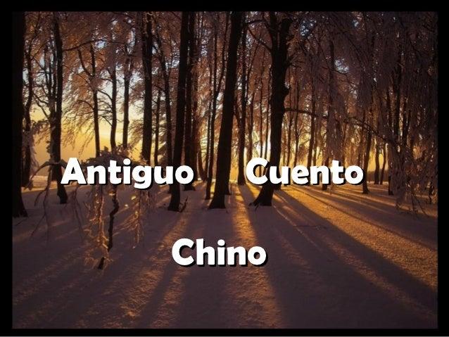 Antiguo   Cuento     Chino