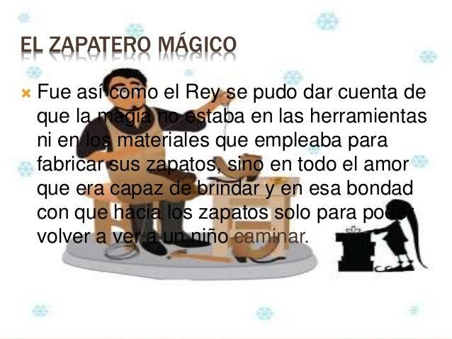 Cuento de el zapatero magico - Zapatero para ninos ...